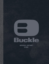 Buckle 2020 Annual Report Cover Image